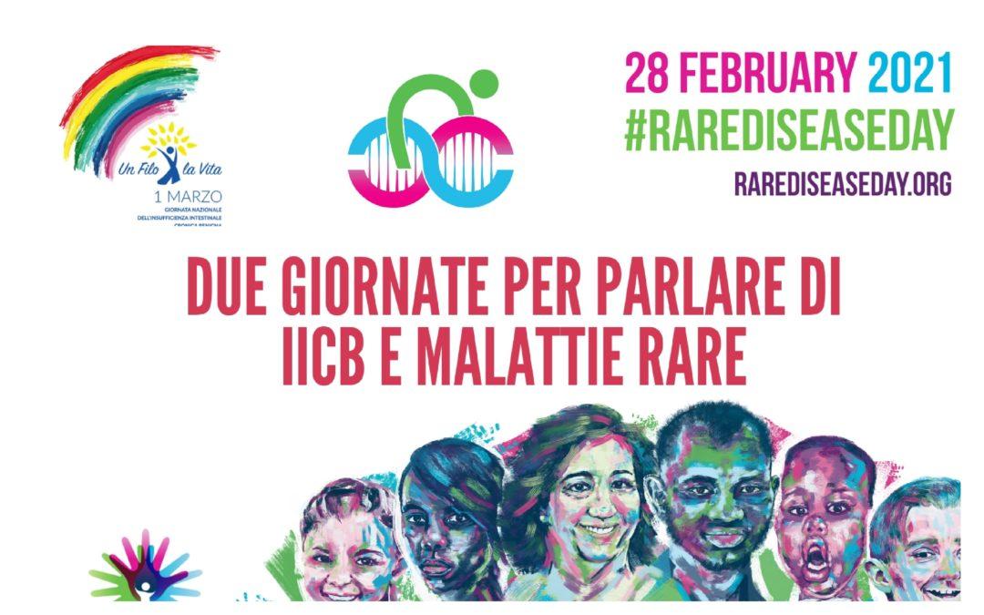 Il nostro supporto alla Giornata internazionale delle Malattie Rare 2021